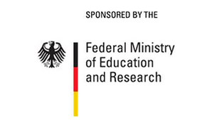 Logo: Sponsored by the Federal Ministry of Education and Research