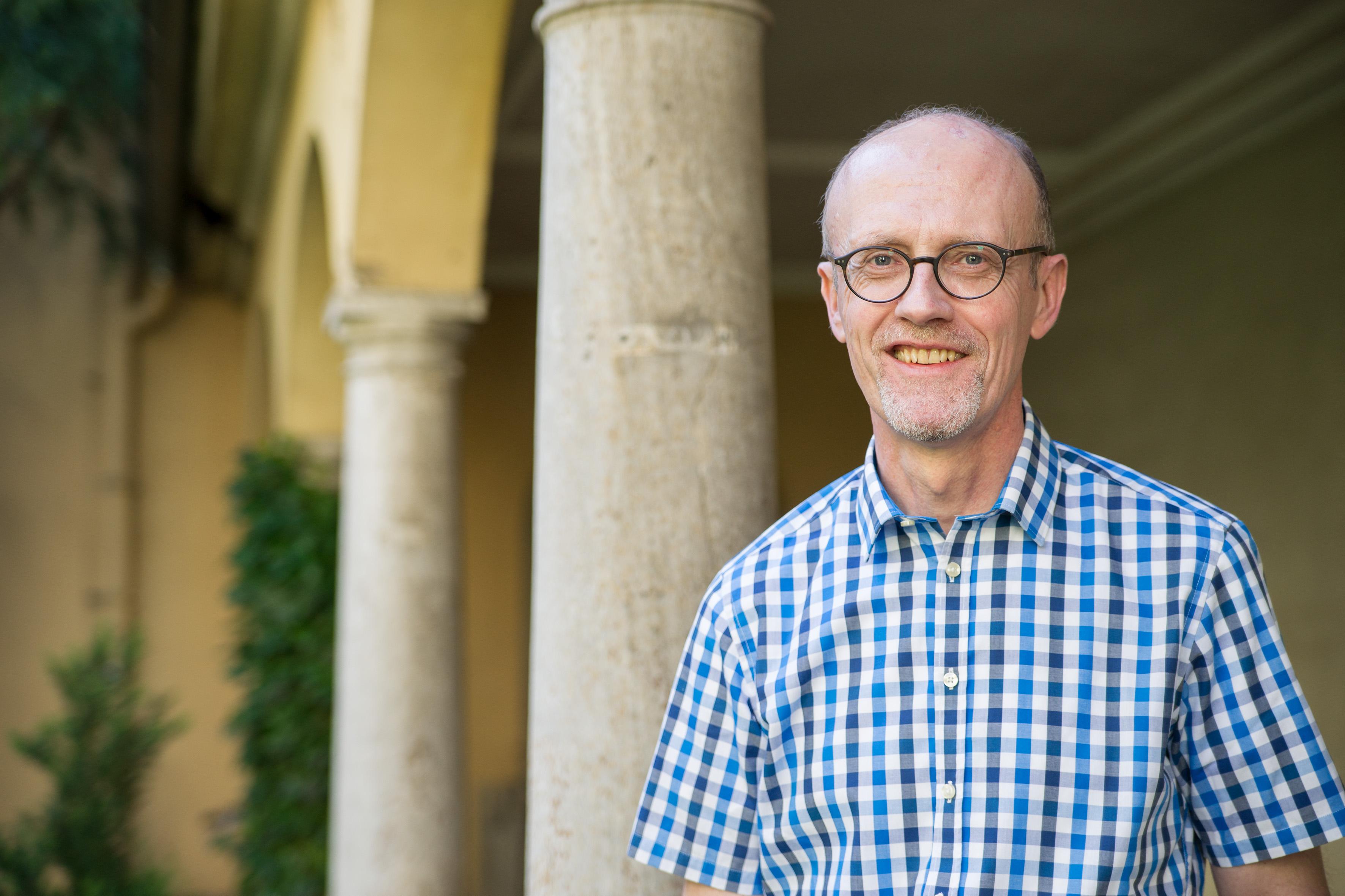 0710b0569acfa6 Der katholische Gemeindereferent Peter Kees arbeitet seit diesem Frühjahr in  der Krankenhausseelsorge des Uniklinikums Würzburg.